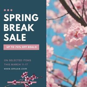 Creative Fashion Spring Sale Advertisement