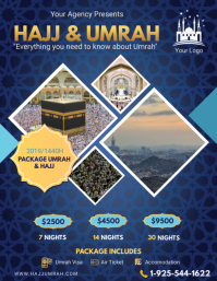 Creative Hajj/Umrah Travel Offer Flyer