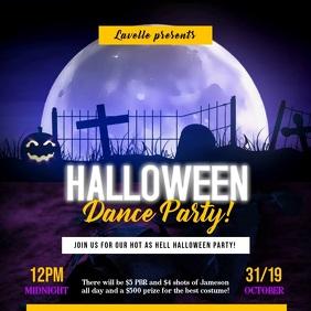 Creative Halloween Dance Party Instagram Video