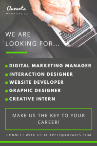 Creative Job Vacancy Poster