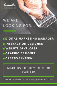 Creative Job Vacancy Poster