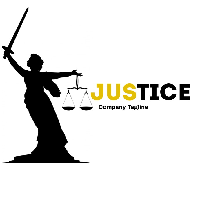 Creative law and attorney logo