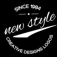 CREATIVE NEW Logotyp template