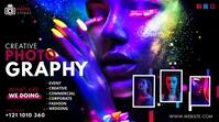Creative Photography Ad Publicación de Twitter template