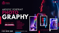 Creative Photography Ad Twitter Post template