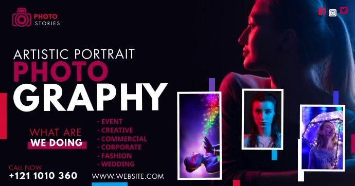 Creative Photography Ad Immagine condivisa di Facebook template
