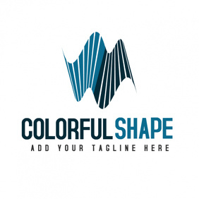 Creative shape icon logo