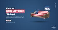 Creative Sofa Company Advertisement Facebook Advertensie template