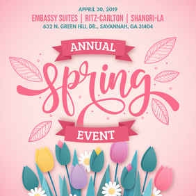 Creative Spring Event Party Invitation