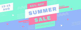 Creative Summer Sale Banner Facebook Cover Photo template