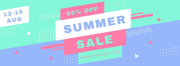 Creative Summer Sale Banner