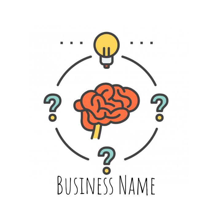 creative thinking business logo
