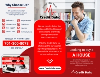 Credits Ads Flyer (US Letter) template