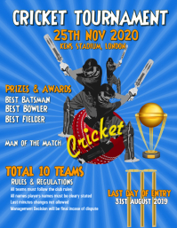 Cricket, Tournament, World cup Poster