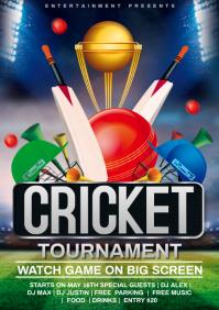 cricket A4 template