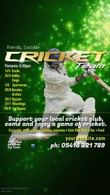 Cricket Event Instagram