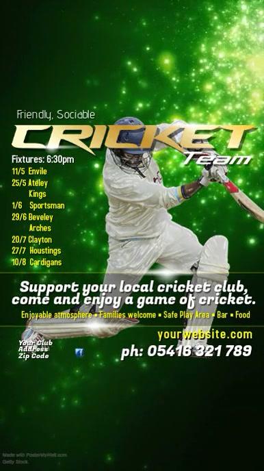 Cricket Event Instagram