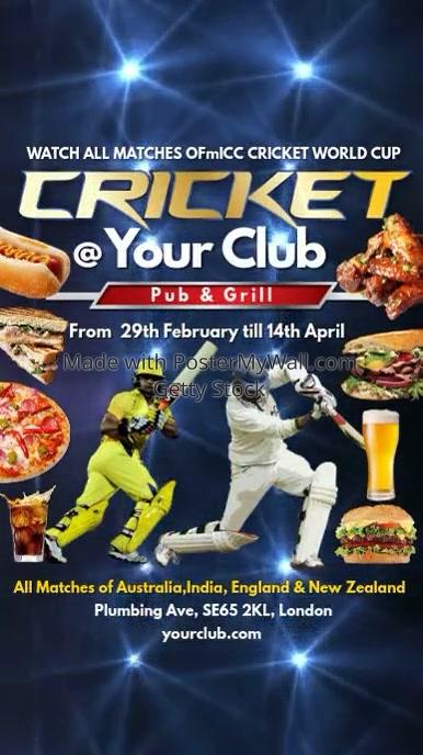 Cricket Instagram Post