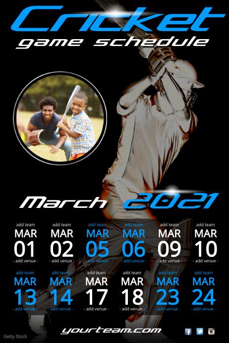 Cricket Match Schedule