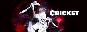 Cricket social media Facebook header