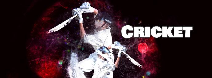 Cricket social media Facebook header