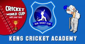Cricket Social Media Header, flyer