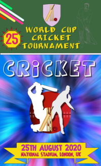 Cricket Tournament Flyer -