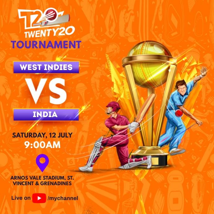 Cricket Tournament Match Schedule template