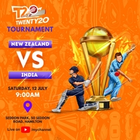 Cricket Tournament Match Schedule Pos Instagram template