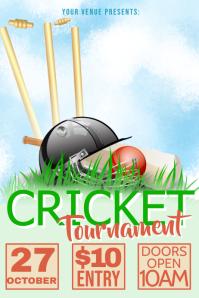Cricket Tournament Poster
