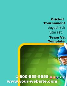 Cricket Tournament Template