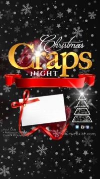 Cristmas Craps Night Instagram Template