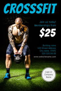 Crossfit Fitness Flyer