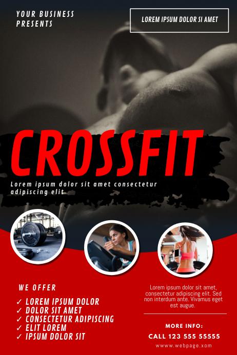 Crossfit Flyer Template
