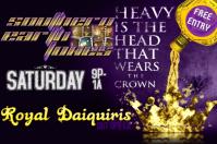 Crown Bar Band Flyer