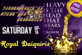 Crown Bar Band Flyer