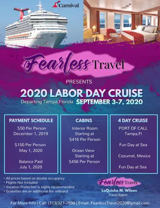 Cruise Flyer without photo