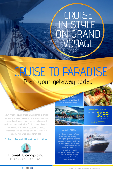 Cruise to Paradise Poster