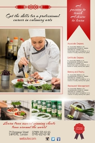 Culinary Institute Flyer