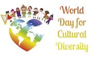 Cultural Diversity Etiqueta template