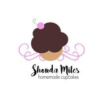 Cupcake Bakery Logo โลโก้ template