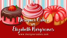 Cupcake Baking Business Card Template