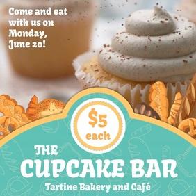 Cupcake Bar Sale Instagram Video Template