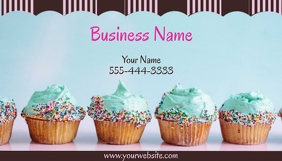 Cupcake Business Card template