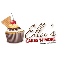 Cupcake logo โลโก้ template