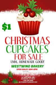 Cupcake Sale Template Affiche