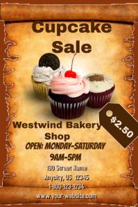Cupcake Sale Template