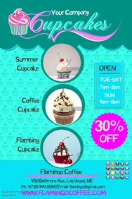 2 250 customizable design templates for cupcake festival postermywall