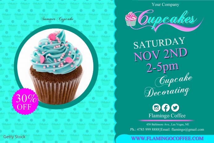 cupcake2 Plakat template