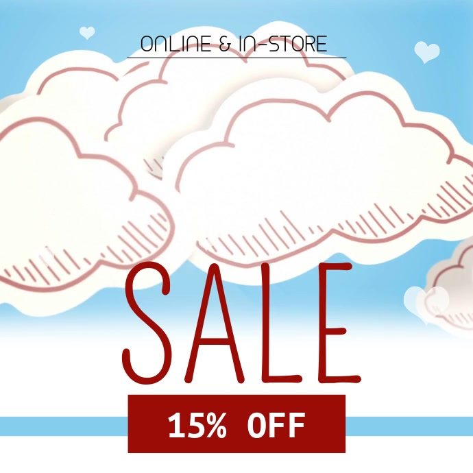Cupid Instagram Sale Video Template